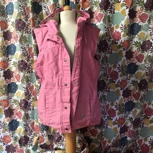 Carhart lines vest! Light pink color